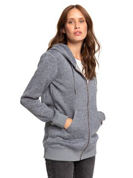 Moon Change - Hooded Zip-Up Fleece  ERJPF03046