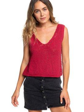 Blooming Season - Knitted Vest Top for Women  ERJSW03342