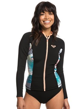 1mm POP Surf - Long Sleeve Front Zip Wetsuit Top  ERJW803018