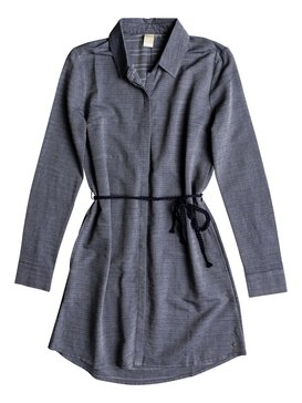 Crazy Whisper - Long Sleeve Shirt Dress for Women  ERJWD03254