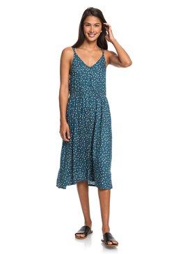 My Way To Coast - Strappy Midi Wrap Dress for Women  ERJWD03355