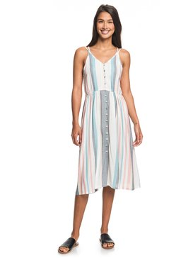 My Way To Coast - Strappy Wrap Dress for Women  ERJWD03371