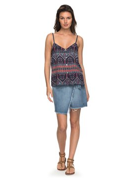 Punta Brea - Wrap Denim Skirt for Women  ERJWK03034