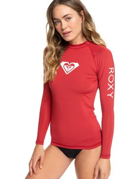 Whole Hearted - Long Sleeve UPF 50 Rash Vest for Women  ERJWR03221