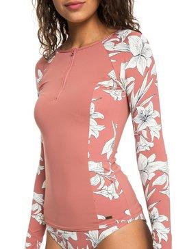 Softly Love - Long Sleeve UPF 50 Zipped Rash Vest for Women  ERJWR03246