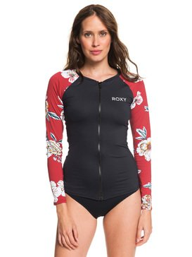 Sunny You - Long Sleeve Zip-Up UPF 50 Rash Vest  ERJWR03333