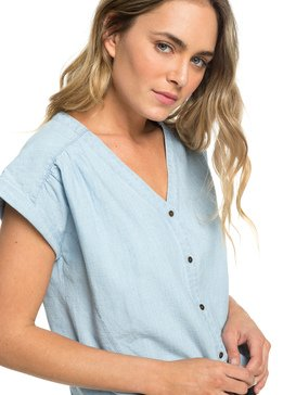 Feel The Bronx - Short Sleeve Blouse for Women  ERJWT03303