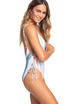 Printed Beach Classics - One-Piece Swimsuit  ERJX103194
