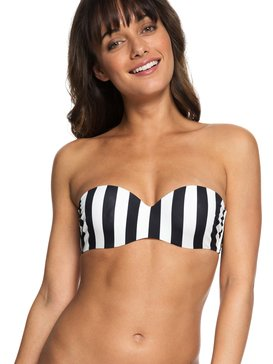 Beach Basic - Underwired Bandeau Bikini Top for Women  ERJX303759