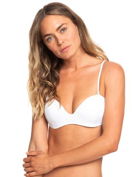Garden Summers - Moulded Underwire Bandeau Bikini Top for Women  ERJX303849