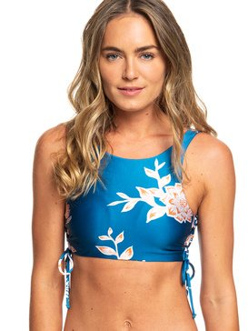 Riding Moon - Crop Top Bikini Top for Women  ERJX303915