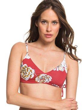 Printed Beach Classics - Athletic Tri Bikini Top for Women  ERJX303965