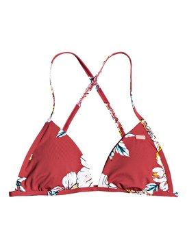 Printed Beach Classics - Fixed Tri Bikini Top  ERJX303966