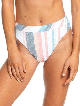 Printed Beach Classics - Mid Waist Bikini Bottoms  ERJX403780