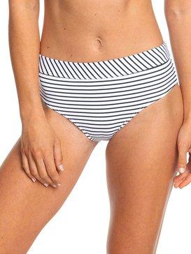 Printed Beach Classics - Mid Waist Bikini Bottoms  ERJX403806
