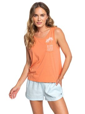Sunday Morning Feeling - Boxy Vest Top  ERJZT04595