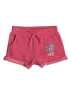 Laugh And Love - Sweat Shorts for Girls 2-7  ERLFB03043