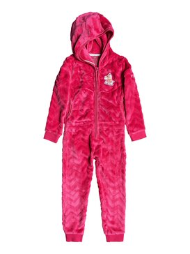 Cozy Up - Technical Hooded Cosy Fleece Jumpsuit for Girls 4-16  ERLFT03180