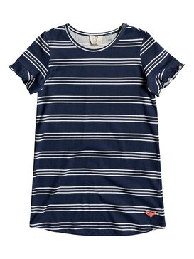 Second Sun - Short Sleeve T-Shirt Dress for Girls 2-7  ERLKD03064