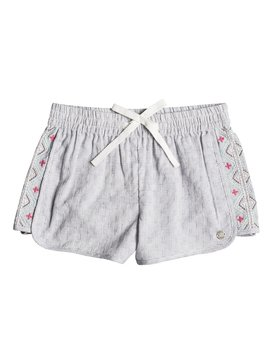 Wealthy And Wise - Beach Shorts for Girls 2-7  ERLNS03015