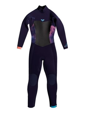 Girl's 2-6 3/2mm Syncro Series Back Zip GBS Wetsuit  ERLW103001
