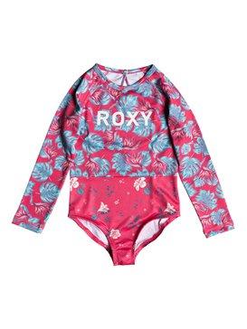ROXY Mermaid - Long Sleeve One-Piece UPF 50 Rashguard for Girls 2-7  ERLWR03067