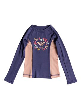 Simply ROXY - Long Sleeve UPF 50 Rash Vest for Girls 2-7  ERLWR03071