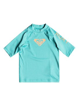Whole Hearted - Short Sleeve UPF 50 Rash Vest for Girls 2-7  ERLWR03074