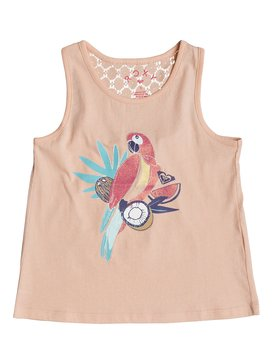 Peaceful Light The Parrot - Vest Top for Girls 2-7  ERLZT03121