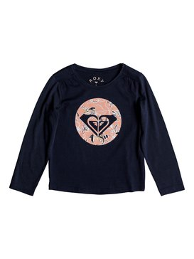 Never Ages Trellis Logo - Long Sleeve T-Shirt for Girls 2-7  ERLZT03142