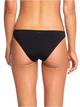 3 Beach Classics Moderate Bikini Bottoms Black ERJX403864 Roxy