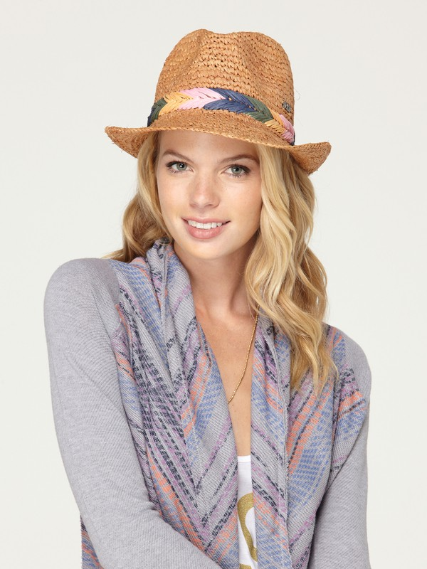 0 Witching Straw Hat  449D68 Roxy