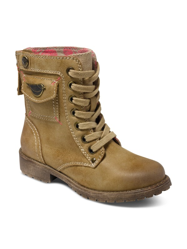 0 Girl's 7-14 Georgie Boots  ARGB700012 Roxy