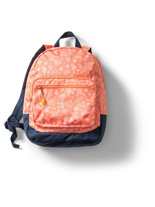 0 Ariel Happy At Home 23L Reversible Medium Backpack Pink ARGBP03002 Roxy