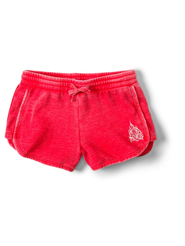 0 New Adventures Sweat Shorts Red ARGFB03005 Roxy