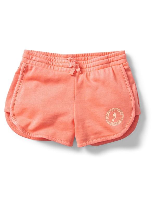 0 Ariel New Adventures Sweat Shorts Pink ARGFB03005 Roxy