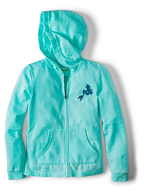 0 Mask And Snorkels Zip-Up Hoodie Blue ARGFT03080 Roxy