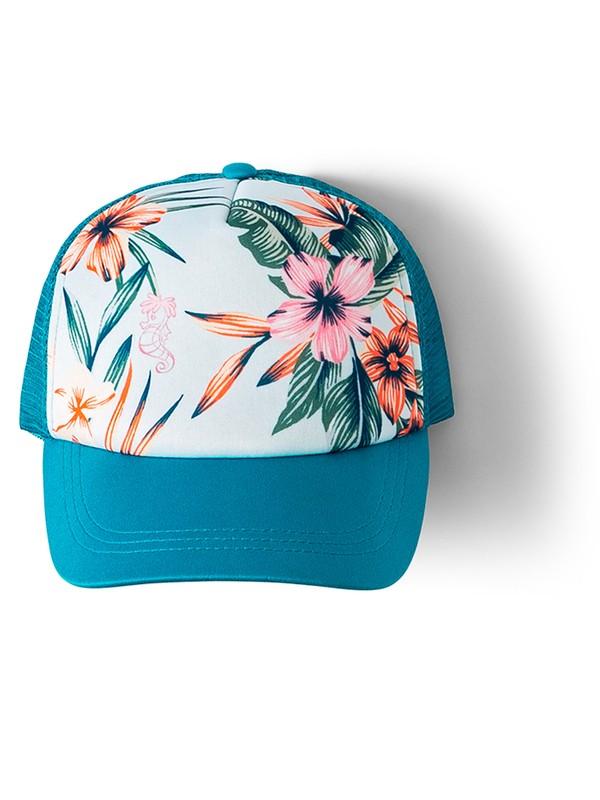 0 Ocean Town Trucker Hat Blue ARGHA03018 Roxy
