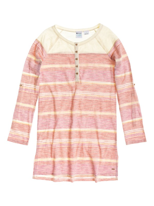 0 Coastal - Striped Tee Dress  ARGKD03025 Roxy