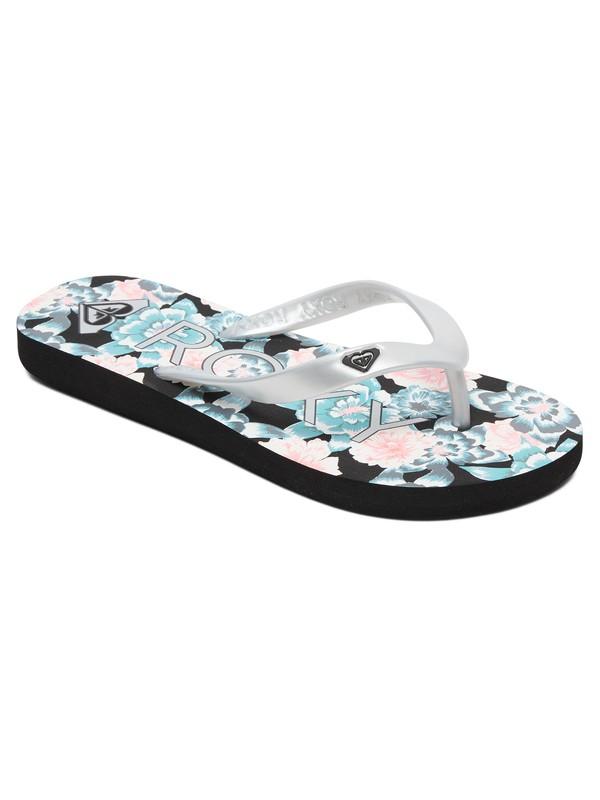 0 Niñas 7-14 Sandalias Tipo Flip-Flops Tahiti Azul ARGL100181 Roxy
