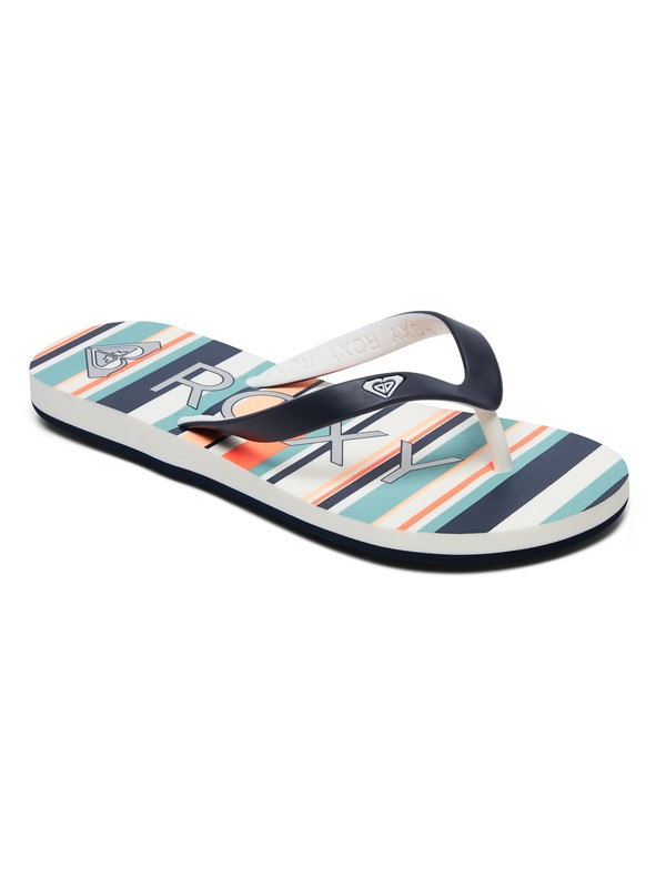 0 Girl's 7-14 Tahiti Flip-Flops Multicolor ARGL100181 Roxy