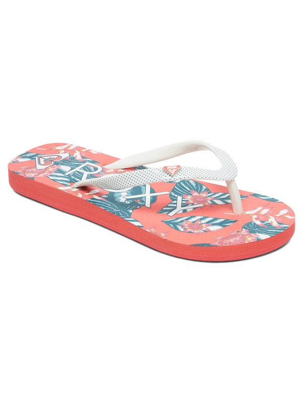 0 Girl's 7-14 Pebbles Flip-Flops Multicolor ARGL100182 Roxy