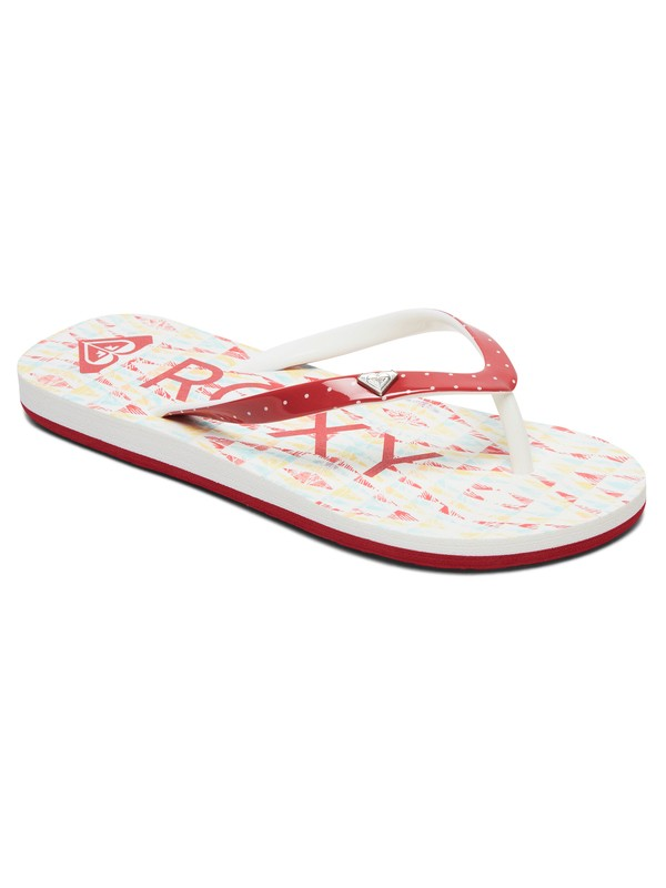 0 Niñas 7-14 Sandalias Tipo Flip-Flops Pebbles Gris ARGL100182 Roxy