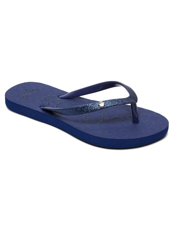 0 Viva Glitter - Sandalen für Mädchen 8-16 Blau ARGL100186 Roxy