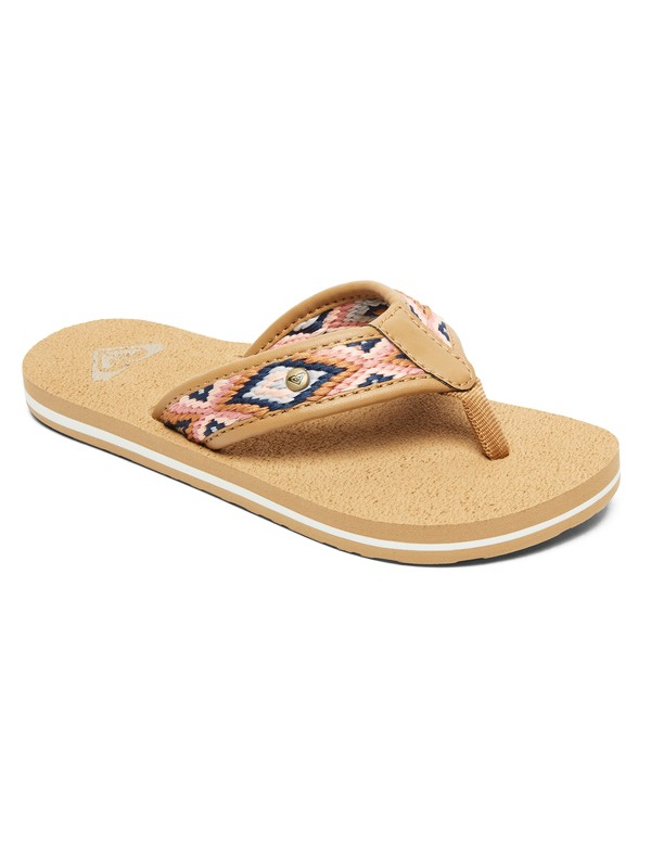 0 Girl's 7-14 Saylor Sandals Beige ARGL100210 Roxy