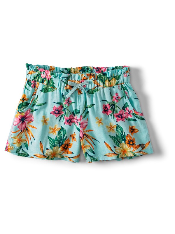 0 Rainbow Shower Viscose Shorts Blue ARGNS03020 Roxy