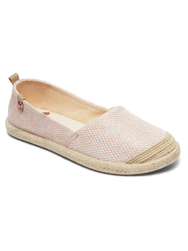 0 Flora - Scarpa slip on da Ragazza Red ARGS600087 Roxy