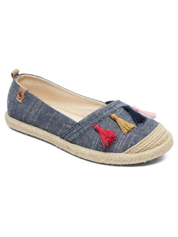 0 Flora - Chaussures slip-on pour Fille Vert ARGS600087 Roxy