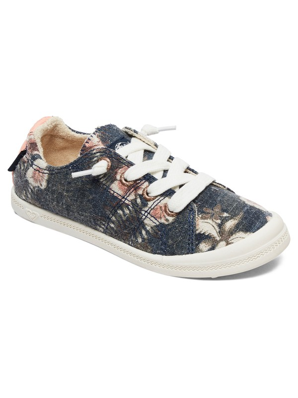 0 Girl's 7-14 Bayshore Shoes Blue ARGS600091 Roxy