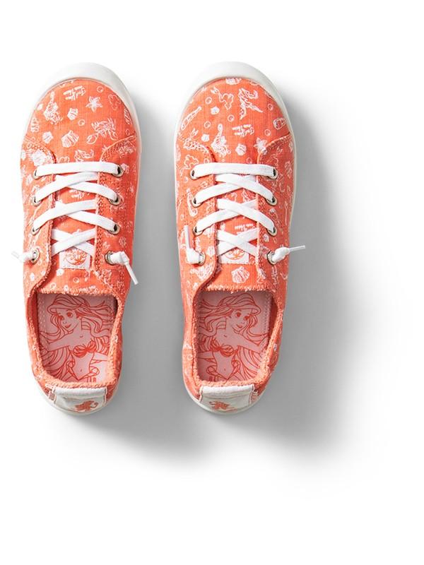 0 Girl's 7-14 Bayshore Shoes Orange ARGS600100 Roxy